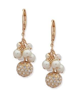 Faux Pearl and Crystal...