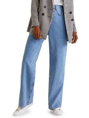 Romantic Wide-Leg Jeans 500088531826