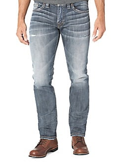 81e73ba150f7b9 Product image. QUICK VIEW. Silver Jeans Co. Allan Slim-Fit Jeans