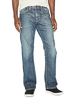 b3ecacf6bbb190 Product image. QUICK VIEW. Silver Jeans Co. Gordie Straight-Leg Jeans