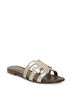 bc10953b6ab QUICK VIEW. Sam Edelman. Bay Metallic Leather Sandals