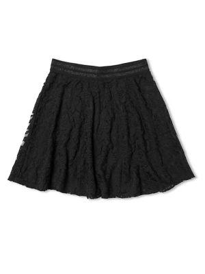 Girl's Lace Skater Skirt...