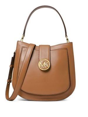 Lillie Leather Hobo Bag...