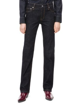 031 Mid-Rise Straight Jeans