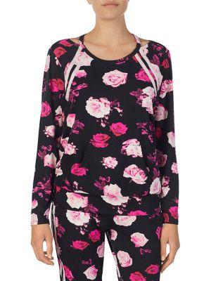 Printed Pajama Top @...