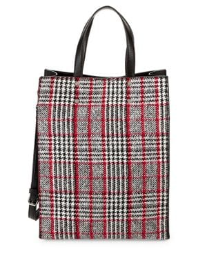 Image of North-South Plaid Tote