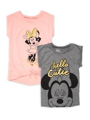 Girl's Set of Two Minnie...