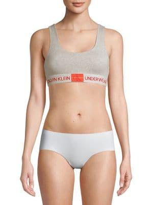 20c44174443e9 Calvin Klein - Monogram Unlined Bralette