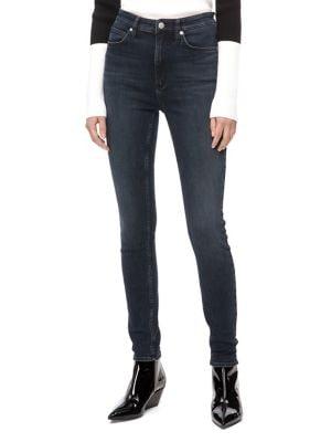 010 High-Rise Skinny Jeans