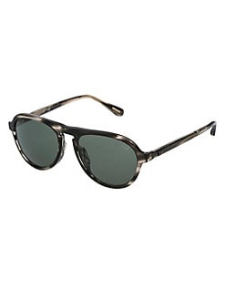 7faa7396a17 QUICK VIEW. dunhill. 54MM Tonal Rounded Aviator Sunglasses
