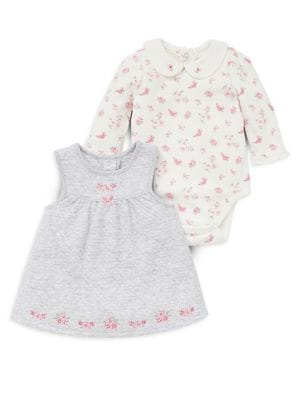 Baby Girls TwoPiece Rose Jumper Set