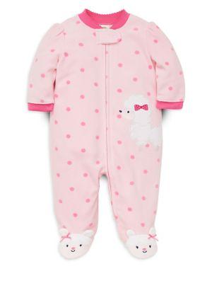 Baby Girl's Poodle Fleece...