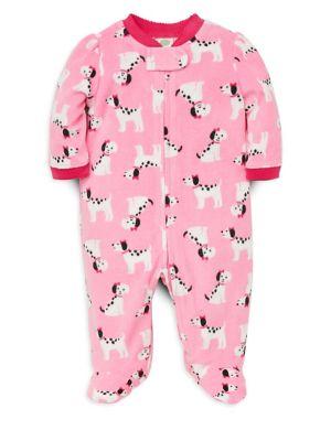 Baby Girl's Printed Fleece...