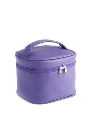 Image of Leather Cosmetic Carrying Case