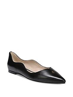 1f4c3b17fcd5b3 QUICK VIEW. Sam Edelman. Rosalie Scalloped Leather Flats
