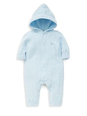 Baby Boy's Knit Coveralls...