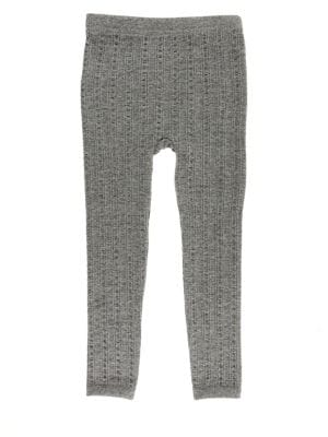Girl's Cable Fleece Lined...