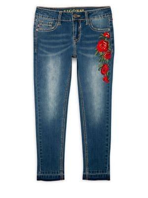 Girl's Rose Garden Skinny...