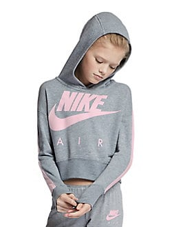 5fdd70c66176 QUICK VIEW. Nike. Girl s Cropped Fleece Hoodie