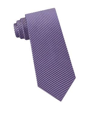 Zigzag Silk Tie @...