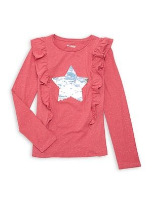Girl's Reversible Sequined...