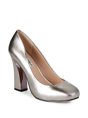 bb9c21c7c4e Karl Lagerfeld Paris - Addie Tweed Block Heel Shoes - lordandtaylor.com
