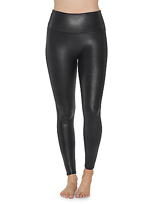 e74d4a19673 Spanx - Faux Leather Shaping Leggings - lordandtaylor.com