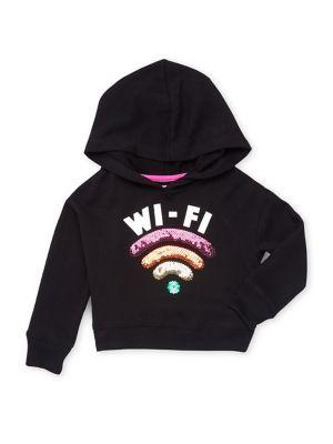 Little Girl's Wi-Fi Hoodie...