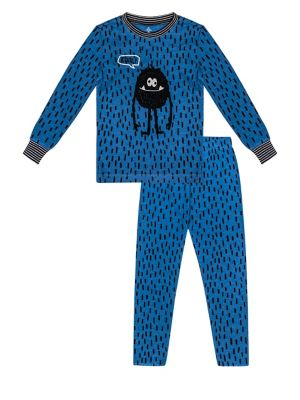 Little Boy's Two-Piece Cool Monster Pajama Set 500088589479
