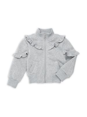 Girl's Ruffled Fleece...