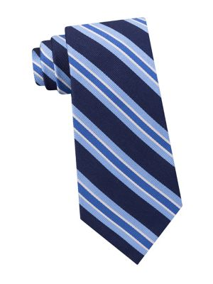 Repp Stripe Silk Tie...