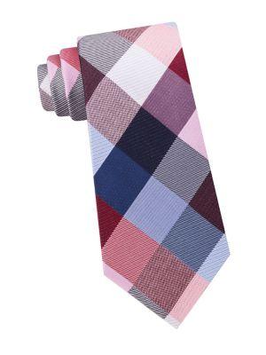 Buffalo Check Silk Tie...