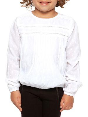Little Girl's Long-Sleeve...