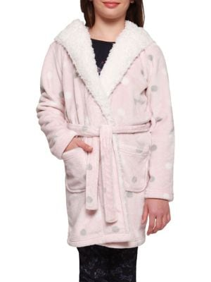 Girl's Polka-Dot Fleece...