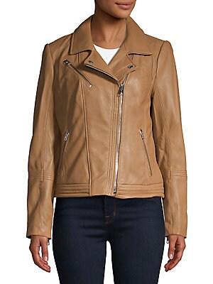 610317dd38ff MICHAEL Michael Kors - Asymmetric Moto Jacket - lordandtaylor.com