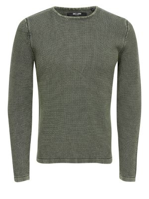 Detailed-Knit Sweater...