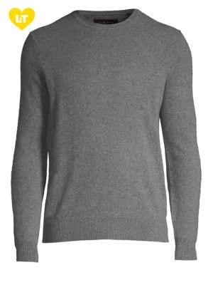 Crewneck Cashmere Sweater...