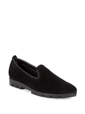 Classic Suede Loafers...