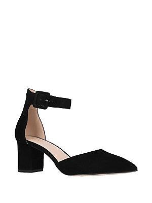 Kurt Geiger London - Burlington Suede Court Shoes f647bf5e2