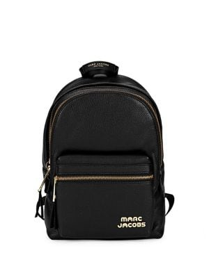 Leather Medium Backpack...