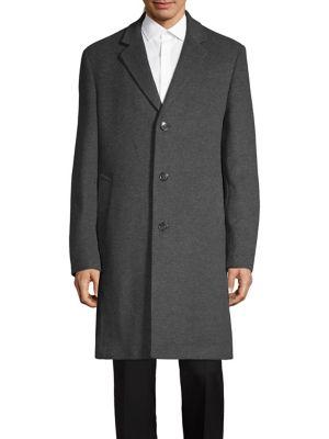 Notch Lapel Top Coat...