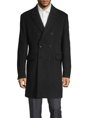 Double Breasted Overcoat...