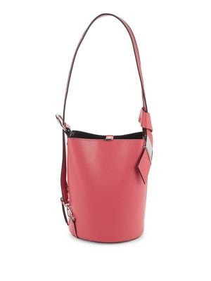 Strappy Leather Bucket...