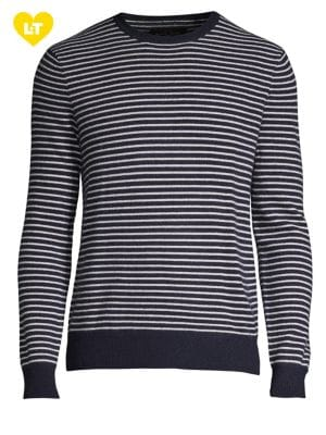 Stripe Cashmere Sweater...