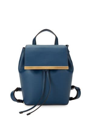 Mally Leather Backpack...