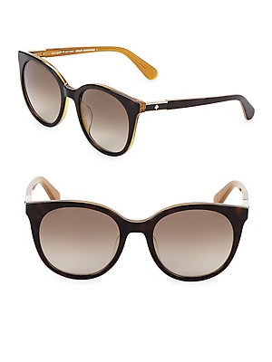 c5441c040f Kate Spade New York - Melly 53mm Round Sunglasses - lordandtaylor.com