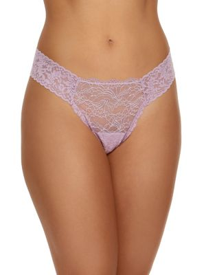 Marquise Lace Low-Rise...