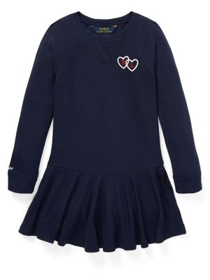 Little Girl's French Terry Graphic Dress 500088617802