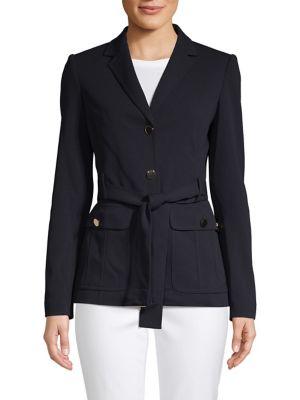 Notch Self-Tie Jacket...
