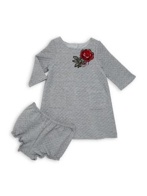 Baby Girl's Embroidered...